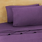 Brooklyn Flat Extra Soft Jersey Queen Sheet Set in Violet
