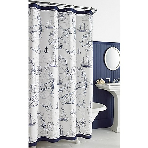 Cape Island Shower Curtain