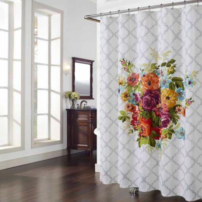 Melissa Multicolor Floral Shower Curtain Bed Bath Beyond