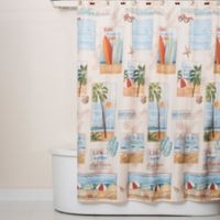 Beach Time Shower Curtain