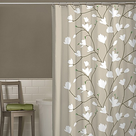 Shower Curtains cherry blossom shower curtains : Heidi Cherry Blossom Shower Curtain - Bed Bath & Beyond