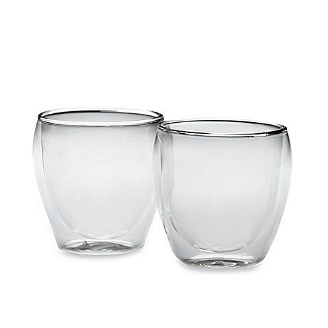 Bodum® Thermo-Glass Pavina Double Wall Thermal 8.5-Ounce Cappuccino Glasses (Set of 2)