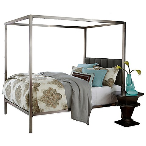 Buy Hillsdale Chatham King Bed With Rails And Canopy From