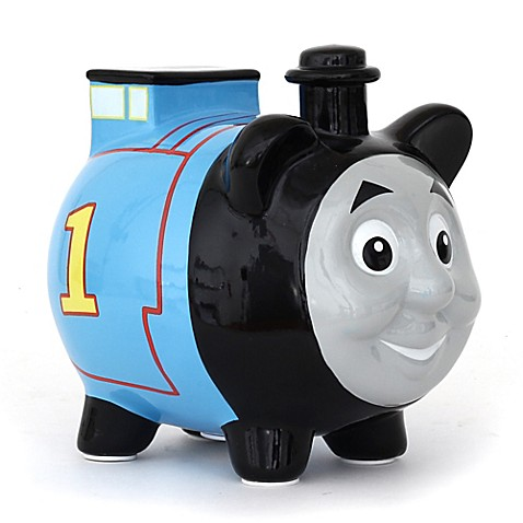 Thomas and friends thomas the train piggy bank bed bath beyond - Train piggy banks ...