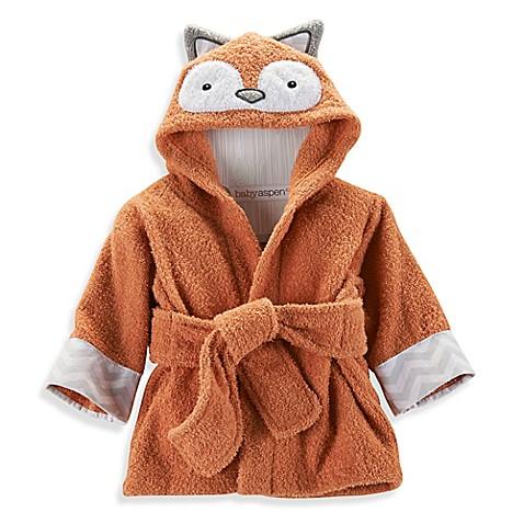 Baby Aspen Rub A Dub Fox In The Tub Hooded Spa Robe