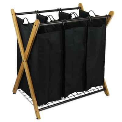 Bamboo Collapsible Hamper At Bed Bath And Beyond