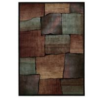 Nourison Expressions Squares 9-Foot 6-Inch x 13-Foot 6-Inch Area Rug in Multicolor