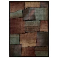 Nourison Expressions Squares 2-Foot x 2-Foot 9-Inch Area Rug in Multicolor