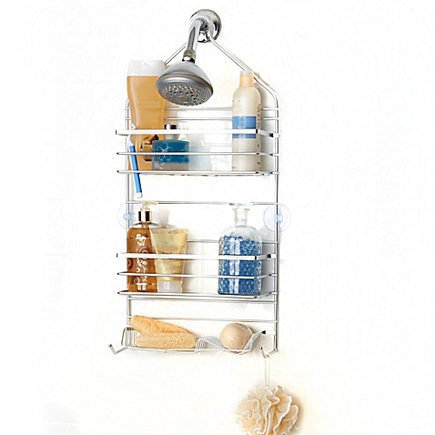 spa creations rustproof shower caddy bed bath beyond