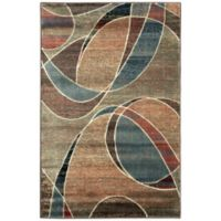 Nourison Expressions Abstract 3-Foot 6-Inch x 5-Foot 6-Inch Area Rug in Multicolor