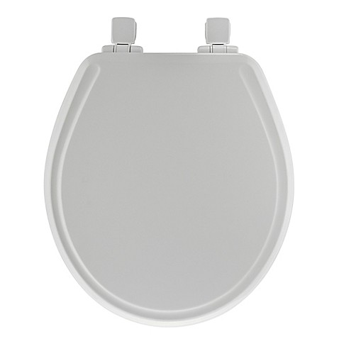 Mayfair Round Molded Wood Whisper Close 174 Toilet Seat In