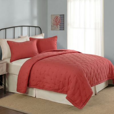 Buy Coral Twin Bedding from Bed Bath & Beyond : coral bed quilt - Adamdwight.com