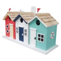 Home Bazaar Brighton Beach Huts Birdhouse