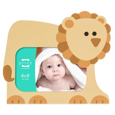 Prinz All Because 4-Inch x 6-Inch Frame from Buy Buy Baby