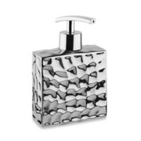 Taymor® Chrome Crush Rectangular Lotion Dispenser