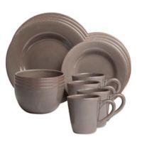 Sonoma 16-Piece Dinnerware Set in Grey