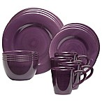 Sonoma 16-Piece Dinnerware Set in Purple
