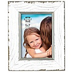 Prinz Clearwater 5-Inch x 7-Inch Wood Picture Frame in White