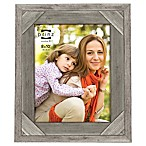 Prinz Barnes 8-Inch x 10 Inch Distressed Barnwood Picture Frame in Antique White
