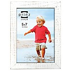 Prinz Sweet Water 5-Inch x 7-Inch Wood Picture Frame in White