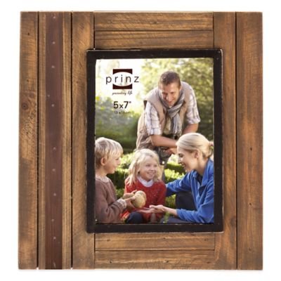 prinz woodlands 5 inch x 7 inch picture frame in natural