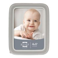 Prinz Sweet Dreams 4-Inch x 6-Inch Resin Picture Frame in Grey/White