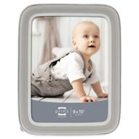 Prinz Sweet Dreams 8-Inch x 10-Inch Resin Picture Frame in Grey/White
