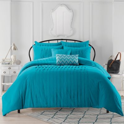 elegant bedding ease with queen duvet bon set cover teal sets voyage more cheap contemporary comforter style