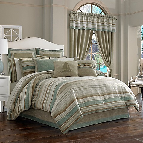 J queen new york newport comforter set bed bath beyond - Bed bath and beyond bedroom furniture ...