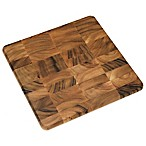 Lipper International 14-Inch Acacia Chopping Block