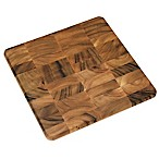 Lipper International 16-Inch Acacia Chopping Block