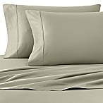 Wamsutta® 400-Thread-Count Sateen Queen Sheet Set in Sage