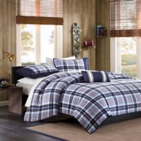 Mizone Eiliot Full/Queen Coverlet Set in Blue