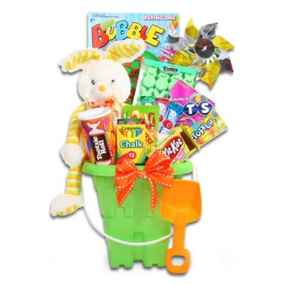 Buy easter gifts from bed bath beyond ultimate easter sweets and treats pail by alder creek gift baskets negle Choice Image