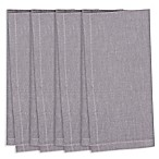 Chambray Napkins in Grey (Set of 4)