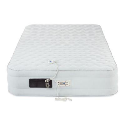 aerobed luxury pillow top 16inch twin air mattress
