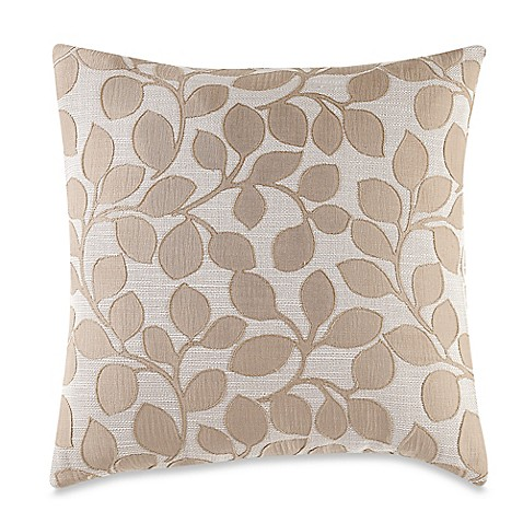 Throw Pillow Makeover : MYOP Lachute Square Throw Pillow Cover in Taupe - Bed Bath & Beyond