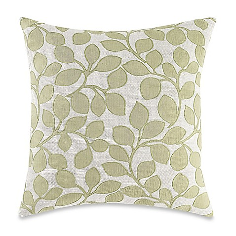 Throw Pillow Covers Bed Bath Beyond : Make-Your-Own-Pillow Lachute Square Throw Pillow Cover in Green - Bed Bath & Beyond