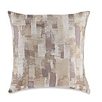 Make-Your-Own-Pillow Mitro Square Throw Pillow Cover in Grey