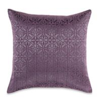 MYOP Orchid Square Throw Pillow Cover in Purple