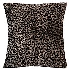 Berkshire Leopard Print Velvet Plush Throw Pillow