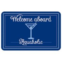 Bungalow Flooring 23-Inch x 36-Inch Aquaholic Accent Kitchen Mat