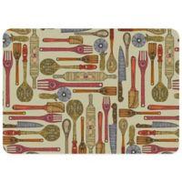 Bungalow Flooring Let's Cook 23-Inch x 36-Inch Kitchen Mat