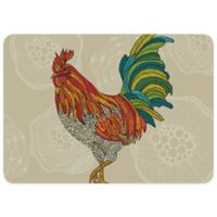 Bungalow Flooring 23-Inch x 36-Inch Rooster Kitchen Mat