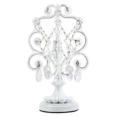 Tadpoles™ by Sleeping Partners Mini Chandelier Table L& in White Diamond  sc 1 st  Bed Bath u0026 Beyond & Buy Tadpoles™ Lighting from Bed Bath u0026 Beyond azcodes.com