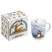 """Waechtersbach Guess How Much I Love You """"I Love You to the Moon and Back"""" Mugs (Set of 4)"""