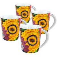 Waechtersbach Power Art Mugs (Set of 4)