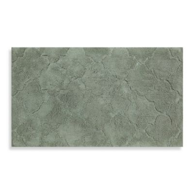 Mohawk Home Avery Collection 20 Inch X 34 Fretwork Bath Rug In Sage