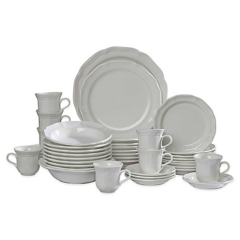Mikasa 174 French Countryside 42 Piece Dinnerware Set Bed