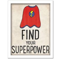 """Find Your Superpower"" Wall Décor"